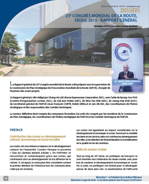 X620 25500 Revue Routes Roads 371 Dossiers Association Mondiale De La Route Jpeg