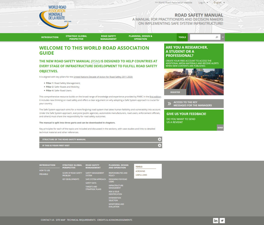 Road Safety Manual - World Road Association