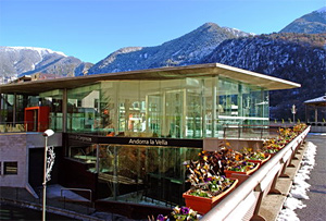The Congress Centre of Andorra la Vella - XIVth International Winter Road Congress