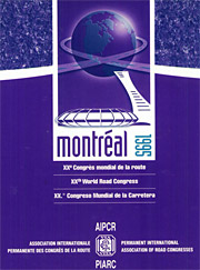 World Road Congress - Montreal 1995 - World Road Association