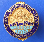 Congrès mondial de la Route - Londres 1913 - Association mondiale de la Route