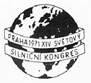 Congrès mondial de la Route - Prague 1971 - Association mondiale de la Route