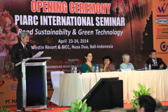 International Seminar Road Sustainability and Green Technology - Bali 2014 - World Road Association
