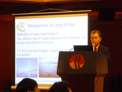 "International Seminar ""Long Span Bridge Construction, Maintenance, and Disaster Resistance Techniques"" Shanghai 2014 - World Road Association"