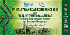 "International Seminar ""Slopes, Road Foundation Drainage and Stormwater Management"" Kuala Lumpur 2014 - World Road Association"