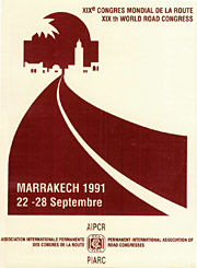 XIXe World Road Congress - Marrakech 1991 - World Road Association