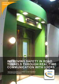 Improving safety in road tunnels through real-time communication with users