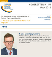 Newsletters - Subscribe