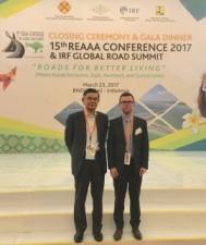 L'AIPCR présente à la 15e Conférence de l'Association de l'ingénierie routière d'Asie et d'Australasie (REAAA)