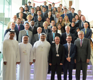 The new Executive Committee of the World Road Association meets in Abu Dhabi