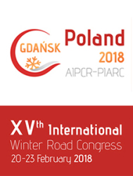 First success for the XVth PIARC International Winter Road Congress 2018