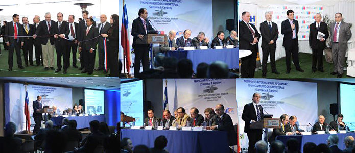 Participants of the International Seminar Financing (Highways & Roads) in Santiago de Chile in July 2014 - World Road Association