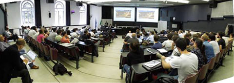 International seminar audience in Milan, Italy, May 2014 - World Road Association