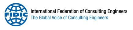 Logo International Federation of Consulting Engineers