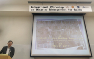 PIARC gathered international experts on Disaster Management in Japan