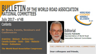 The new issue of the Bulletin of the PIARC National Committees is out!