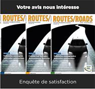 ¡Mejoremos juntos la revista Routes / Roads de la Asociación Mundial de la Carretera!