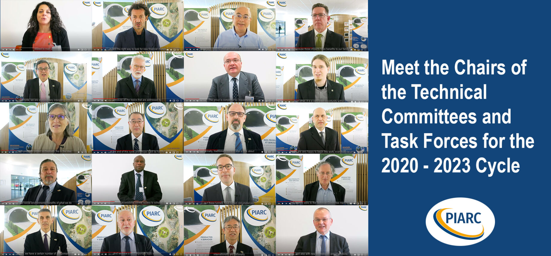 Meet the Chairs of the 22 Technical Committees and Task Forces for the 2020 - 2023 Work Cycle
