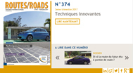 Routes/Roads N° 374 en version électronique