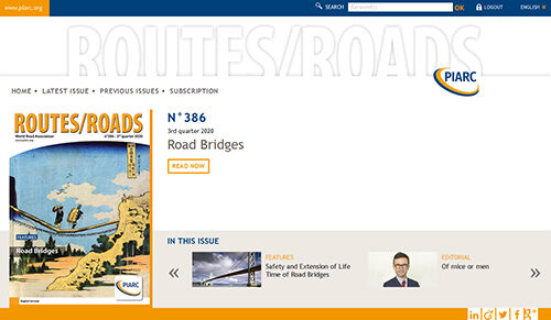 Routes/Roads magazines are available in digital format
