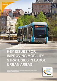 Key issues for improving mobility strategies in large urban areas