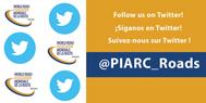¡PIARC está en Twitter, únase a nosotros!