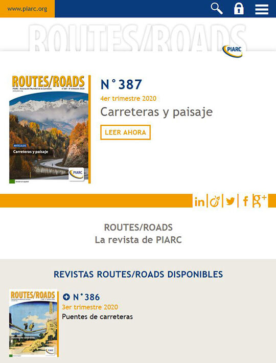 ROUTES/ROADS - La revista de PIARC