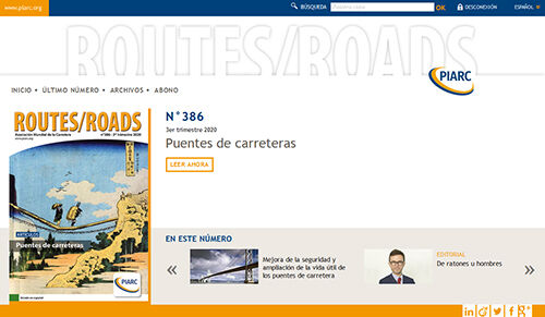 La revista Routes/Roads disponible en versión digital