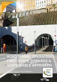 Road tunnel operations: First steps towards a sustainable approach