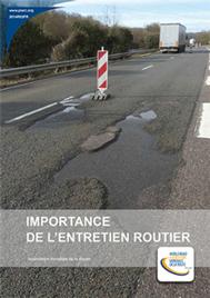Importance de l'entretien routier