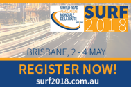 "Are you ready? The ""8th Symposium on pavement surface characteristics: SURF 2018"" is coming!"