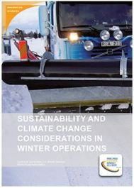 Sustainability and Climate Change Considerations in Winter Operations