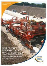 The PIARC Best Practice Guide for the Maintenance of Concrete Roads is now available in Turkish