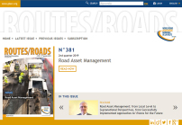 Routes/Roads N° 381 available in digital version - World Road Association PIARC